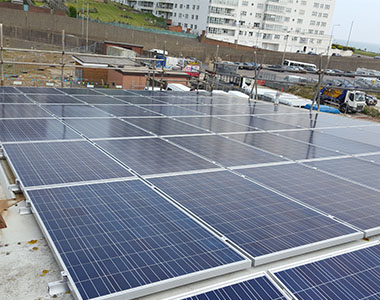 21.84kW commercial solar system in Brighton, Big Lemon, East Sussex