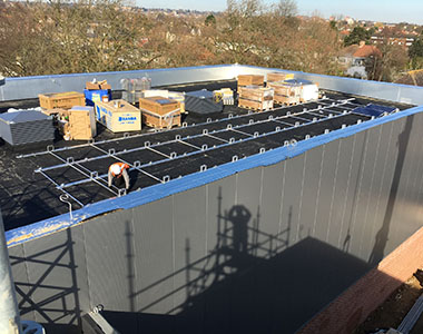 51.5kW commercial solar system in Beckenham, London