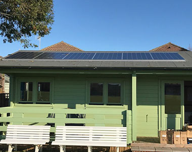 1.56kW off-grid system in Littlehampton