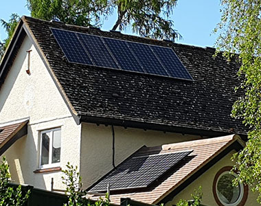 1.92kW solar system in Letchworth